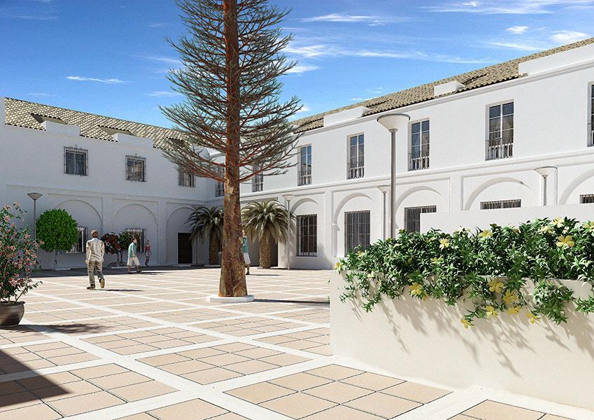 Jardines de la Almona, Sanlúcar de Barrameda - Grupo Soluciones